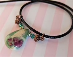 Gorgeous Ruby Fuchsite Stone Necklace - Birthday, Anniversary, Christmas gift, Mother's Day, Valentines Day, Bridesmaid gift, ooak jewelry by IpanemaGirlShop on Etsy