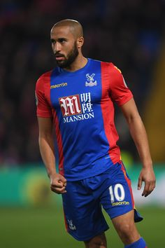 Andros Townsend of Crystal Palace looks on during the Premier League match between Crystal Palace and Tottenham Hotspur at Selhurst Park on April 26, 2017 in London, England.