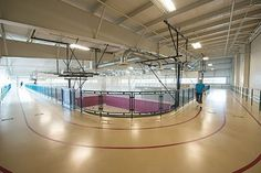 Indoor track at HealthQuest