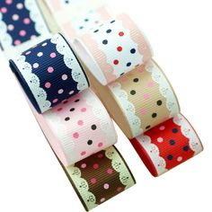 Surker 6 colors Boutique Grosgrain Ribbon DIY handmade headdress -- Want additional info? Click on the image.