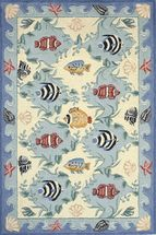Sealife Hooked Rug Collection