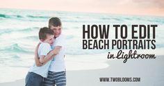 how to edit beach photos