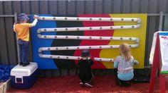 Great outdoor play idea