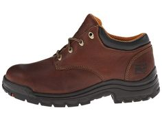 Timberland PRO TiTAN(r) Oxford Soft Toe Men's Industrial Shoes Haystack Brown Oiled Full-Grain Leather Timberland Pro, Steel Toe, Hiking Boots, Oxford, Footwear, Pairs, Heels, Leather, Industrial