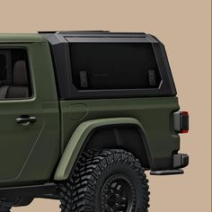 Get Ready For Adventure With This Jeep Gladiator Accessory. Perfect for a camping trip. Truck Caps, Gmc Canyon, Bug Out Vehicle, Jeep Gladiator, Toyota Tacoma, Ford Ranger, Beach Trip, Evo, Mopar