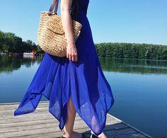 Asymetryczna sukienka | letni look