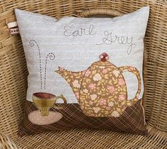 More Tea? pillow | Flickr - Photo Sharing!