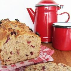 Spelt and Cranberry Bread