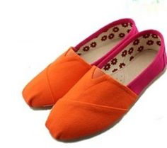 Toms latest Summer Candy Orange and red