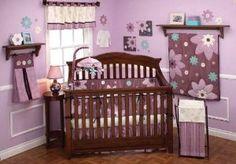 Baby nursery ideas for girls purple purple baby girl nursery themes ideas and green baby nursery Boy Nursery Themes, Baby Girl Room Decor, Baby Girl Nursery Themes, Baby Decor, Nursery Ideas, Bedroom Themes, Decor Room, Bedroom Ideas, Bedrooms