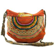 70s embroidered guatemalan bag. folk yaaa
