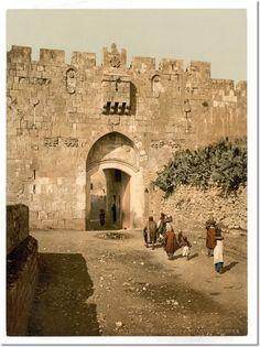 Photo Print St. Stephen's Gate, Jerusalem, Holy Landencore-editions.com