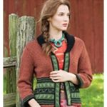 Shawl Collar Cardi. Vogue Knitting