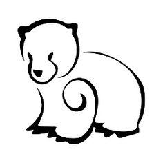 Tatuaggio di Cucciolo di orso, Amore tattoo - TattooTribes.com