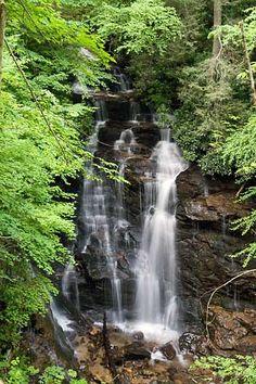 Soco Falls Maggie Vally North Carolina.