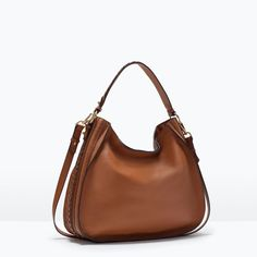 BRAIDED LEATHER BAG-Bags-Woman-SHOES & BAGS | ZARA United States