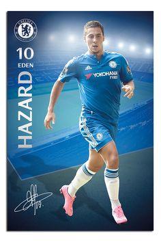Chelsea FC Eden Hazard Poster