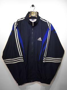Adidas track jacket size X/Large (but Fits Oversized) £32  Website➡️ www.retroreflex.uk  #adidas #trefoil #vintage #oldschool #truevintage
