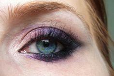Nachgeschminkt Juni 2014 - Deep Purple Smokey Eye AMU, Eye Makeup