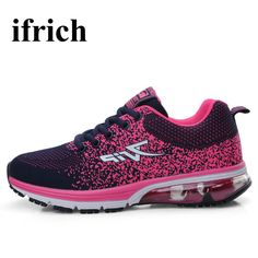 05baca668 Ifrich Spring Summer Sport Shoes Woman Walking Sneakers Ladies Athletic  Trainers Breathable Running Sneakers Air