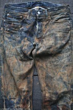 JEANS RRL WASH & PHOTOGRAPHY Ali of A NOBLE SAVAGE