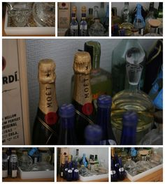 Styling a drinks station...