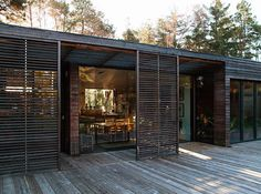 Villa Bergman-Werntoft is located in the heart of Ljungskogen, a major part of Ljunghusen in the municipality of Vellinge in the south of Sweden. House By The Sea, My House, Architecture Details, Interior Architecture, Villas, Xingu, Exterior, Toscana, Future House