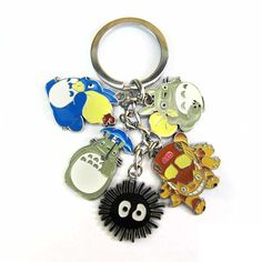 Anime Cartoon Miyazaki Hayao Totoro Metal Figure toys Keychains Pendants kawaii cute Key Chain ring kids toys gift #>=#>=#>=#>=#> Click on the pin to check out discount price, color, size, shipping, etc. Save and like it!