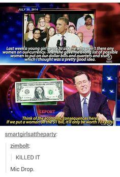 Women on money