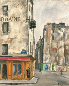 LA SAMARITAINE (RUE DE LA REYNIE) by Takanori Oguiss, oil on canvas | MutualArt.com