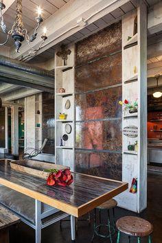 Wabi-sabi-dining-room-industrial-dining-room-portland - Google Search