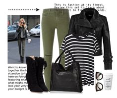 """""""Street Style.."""" by hattie4palmerstone ❤ liked on Polyvore featuring J Brand, Carven, R13, Miu Miu, Prada, River Island, women's clothing, women, female and woman"""