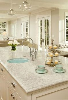 Counter top -white princess quartzite