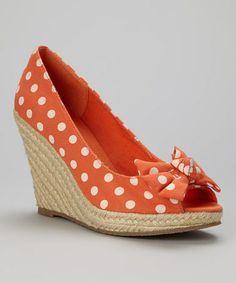 Another great find on #zulily! Coral Swan Espadrille by Mixx Shuz #zulilyfinds $11.99