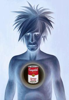 Andy Warhol  amerikai képzőművész 1928. augusztus 6. — 1987. február 22.