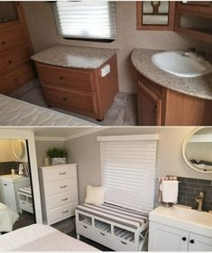 The Joy Of Having A Camping Camper RV On A Camping Trip - family camping site Interior, Home, Remodel, Diy Rv, Camping Organization, Rv Camping Organization, Rv Remodel