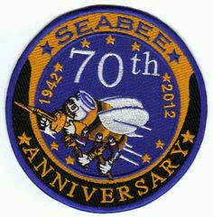 Us navy seabee anniversary patch y Navy Girl, Navy Mom, Us Navy Seabees, Navy Times, Joining The Navy, Navy Chief, Military Mom, Navy Marine, 70th Anniversary
