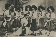 Theatrical production, University of Arizona, c. 1914. Collection of Lisa Bunker.