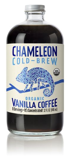 Chameleon Cold Brew — The Dieline - Branding & Packaging