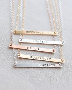 Give your bridesmaid a gift that is personalized just for her! Handmade by Olive Yew.
