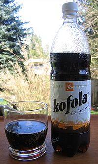 Kofola bottle