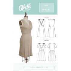 Colette Patterns Colette Patterns Wren Dress
