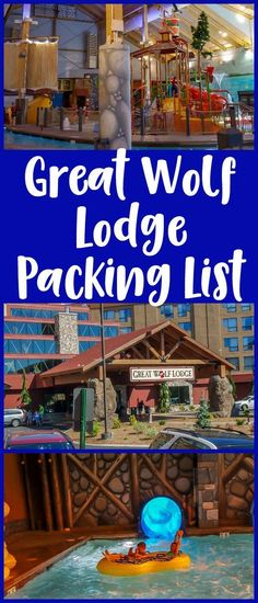 Great Wolf Lodge packing list including towels, beach bags, and more, for those wondering what to bring.