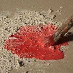 Peindre à l'acrylique avec des charges | L'atelier Canson