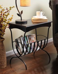 A convenient and stylish choice to store books and magazines. #kirklands #puttogooduse #accenttable