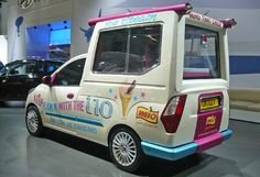 Hyundai i10 Ice Cream Truck
