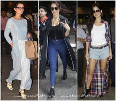 Celebry's Airport style fashion