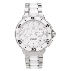 Tag Heuer Women's 'Formula 1' CAH1211.BA0863 Ceramic Diamond Accent Link Watch
