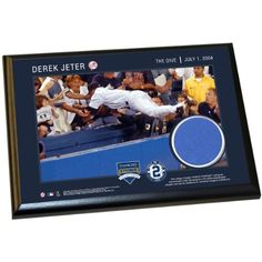 Derek Jeter Moments The Dive 4 Inch X 6 Inch Wall Panel Plaque -- Check out the image by visiting the link. (Note:Amazon affiliate link)