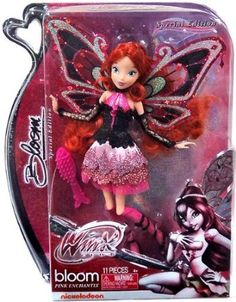 Winx Club Pink Enchantix Special Edition Bloom: Amazon.co.uk: Toys & Games